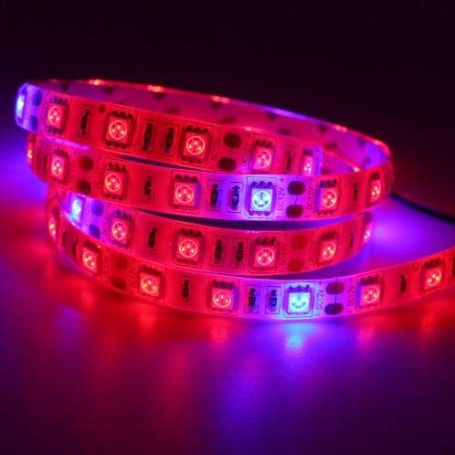 5M Plant Growing 5050 Strip 12V LED Light Hydroponic Red Blue 5:1