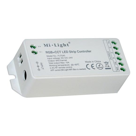 FUT045 Mi.Light DC 12V 24V RGB+CCT LED Strip Controller