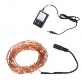 10m 100LEDs LED Fairy Light Christmas Holiday String With DC Adapter