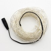10M 100LEDs Warm White Star 33ft String LED Copper Wire Fariy Light 2pcs