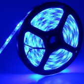 12V 5050 5M 150LEDs Blue Waterproof Flexible LED Strip Light 2pcs