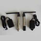 2.4G 3Pin XLR Wireless DMX512 Transmitter And Receiver