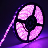 3528 300LEDs 5M Pink Color LED Flexible Strip Light 12V Light 2pcs