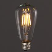 4W 6W 8W E27 LED Filament Bulb Warm White Classical Vintage Light 2pcs