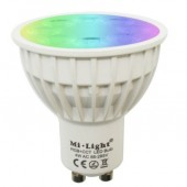 4W GU10 RGB+CCT FUT103 Milight LED Bulb Dimmable LED Spotlight Smart Light Lamp