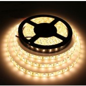 5050 5M 300LEDs Waterproof Warm White LED Strip Light 12V 2pcs
