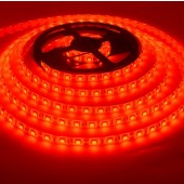 5050 Waterproof 12V 5 Meter Length Red 300 LEDs LED Strip Light