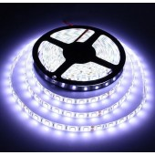 5050 Waterproof 5M 16.4Ft 300LEDs White Flexible Strip Light 12V 2pcs