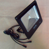 50W RGB DMX Flood Light Can Be Controlled By DMX Controller Directly