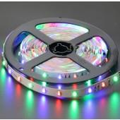 5M 300 LEDs 12V 3528 Flexible RGB LED Strip Light Non-Waterproof 2pcs