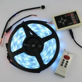 5M 6803 Waterproof LED Strip + 133 Change RF Remote Controller
