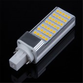 Horizontal Plug LED Bulb G24 E27 Spotlight High Power Lamp Light