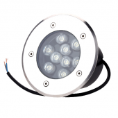 9W In Ground LED Lighting IP65 Waterproof RGB/R/G/B/W Optional Lamp