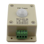 DC12-24V PIR Infrared Motion Sensor Switch Automatic LED Controller