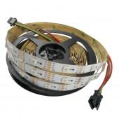 16.4ft APA102 5V Addressable LED Strip 5050 RGB 5M 150LEDs Pixel Light
