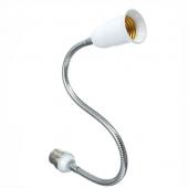 B22 To E27 Light Bulb Screw Socket Holder 43CM Flexible Converter 3pcs