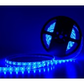 Blue LED Strip Light SMD 5050 DC 24V 5M 300LEDs Flexible
