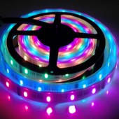 DC 12V 5M Addressable 160LEDs 40ICs TM1812 RGB 5050 LED Pixel Strip