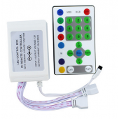 LED RGB Controller DC12V IR 25Keys Strip Running Light Remote 2pcs