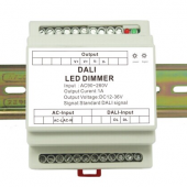 DL107 Guide Rail DALI Constant Current Dimmer Leynew LED Controller