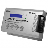 DMX301 Low Voltage DMX With LCD Display 12V 24V Leynew LED Controller