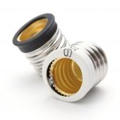 E17 To E12 Bulb Base Socket Adapter Light Candelabra Holder 10pcs