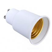GU10 to E27 Lamp Holder Bulb Socket Screw Base Converter Adapter 10pcs