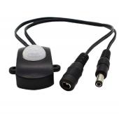 LED 5A Body Infrared Automatic PIR Motion Sensor Switch Plug 2Pcs