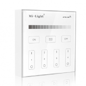 Mi.Light B1 4-Zone Brightness Dimmer Touch Panel Remote Controller