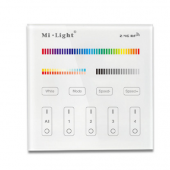 Mi.Light B4 4-Zone RGB+CCT Smart Touch Panel Remote Controller