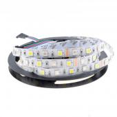 5050 RGBW LED Strip 16.4ft 300LED 5M Non-Waterproof 12V Flex Light