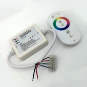RGB Touch Panel Controller RF Wireless Remote Control For LED Strip