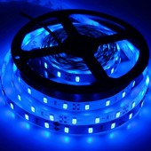 SMD 5630 5M 300LEDs Blue LED Strip Light Non-Waterproof 2pcs
