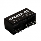 SPA02 Series 2W Mean Well Regulated Converter Power Supply