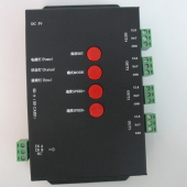 T-4000S RGB Controller SD Card LED Pixel Can MAX Control 4096 DC5V