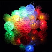 White Plastic Pinecones For LED Holiday String Home Garden Light 100Pcs
