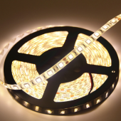 Warm White SMD 5050 DC 24V LED Strip 5M 16.4Ft 300LEDs Flexible Light