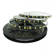 12V 5050 LED Strip Light 5M 300 LEDs Black PCB Background 16.4ft