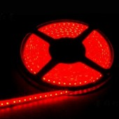 Waterproof 3528 Red Flexible Strip Light 5M 600LEDs 12V LED Tape