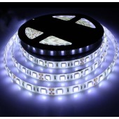 Waterproof 5050 300LEDs 5M Cool White Flexible Strip Light 12V 2pcs