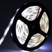 5M 150LEDs 5050 LED Pure White Waterproof Strip Light 12V 2pcs