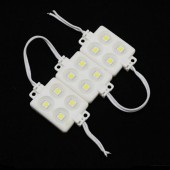 IP65 Waterproof 12V 4LEDs 5050 SMD LED ABS Plastic Module 20pcs