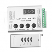 WS2811 2801 12V 24V RGB LED Remote Controller HC008 For Pixel Strip