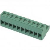 10 Pin Terminal Block Headers Plug Socket Term Blocks Connector 5pcs