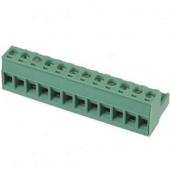 12 Pin Terminal Block Headers Plug Socket Term Blocks Connector 3pcs