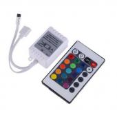 12V 24 Key LED IR Remote Controller For 3528 5050 RGB Strip Light 3pcs