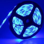 12V 5050 5M 150LEDs Blue Waterproof Flexible LED Strip Light