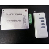 DC 12V Common Cathode RGB LED Controller With RF Remote Control