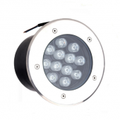 12W LED Inground Light Underground Garden Flood Buried Wall Washer Spotlight