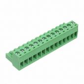 14 Pin Terminal Block Headers Plug Socket Term Blocks Connector 3pcs